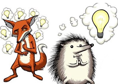 Image of Fox and Hedgehog parable
