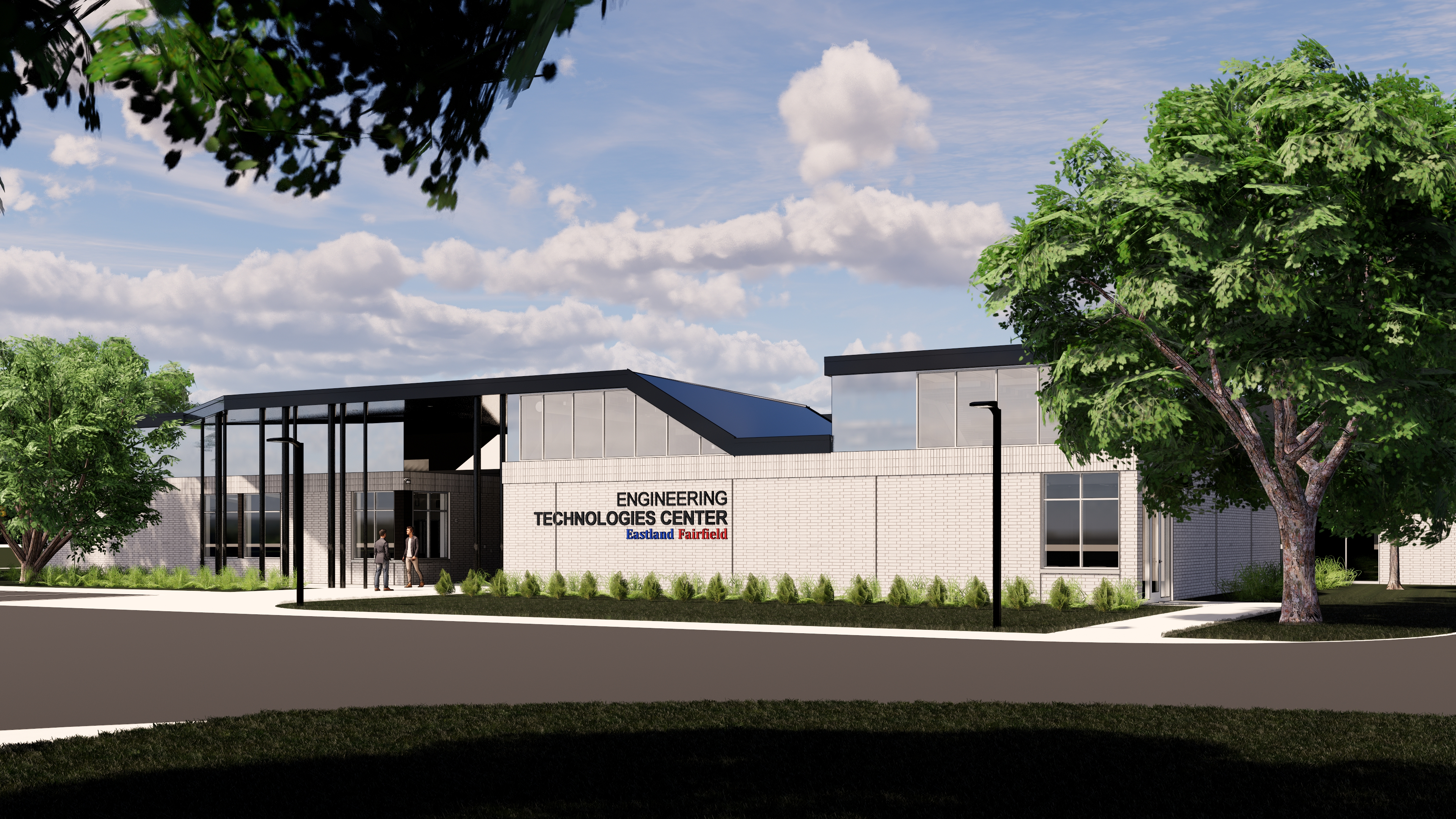 Rendering of Engineering Technologies Center