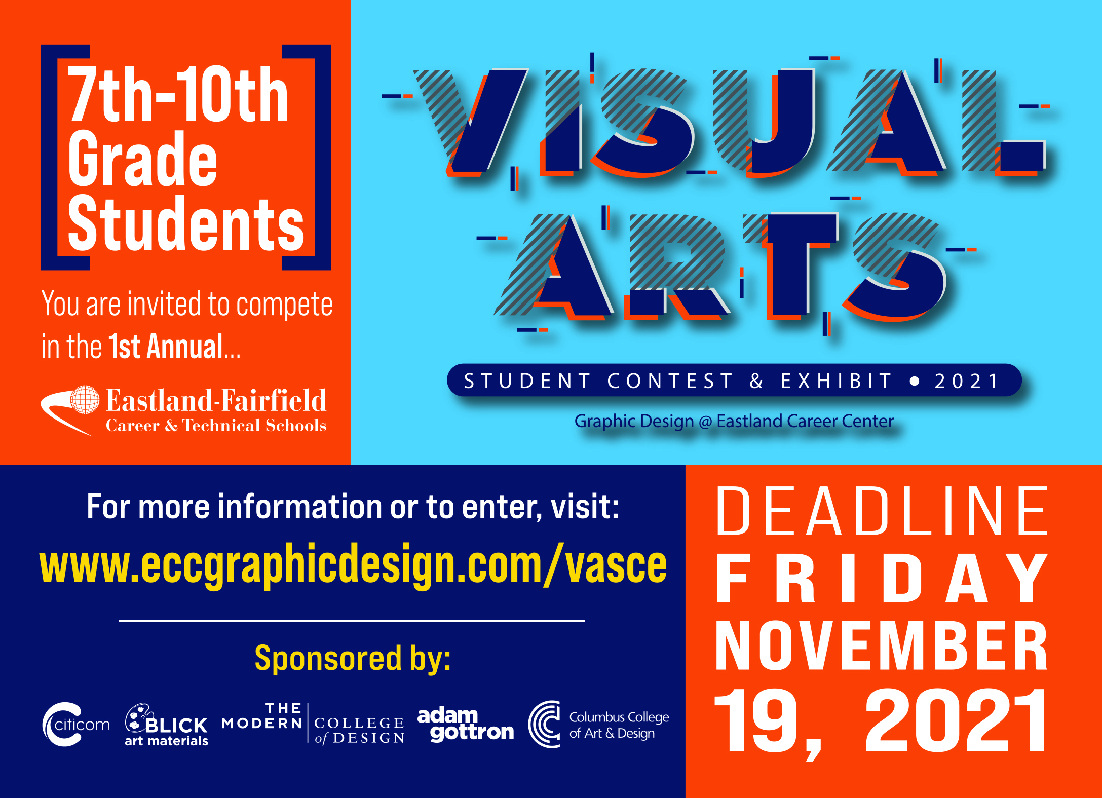 Enter the inaugural Visual Arts contest for a chance for your artwork to win you a prize!