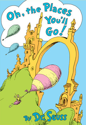 Oh The Places You Will Go!, Dr. Suess, book cover