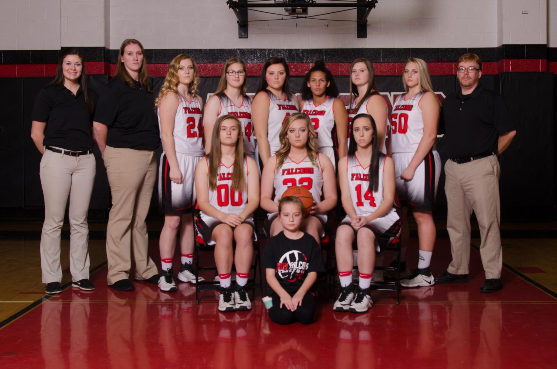 2017-2018 FHS Lady Falcons Team Photo