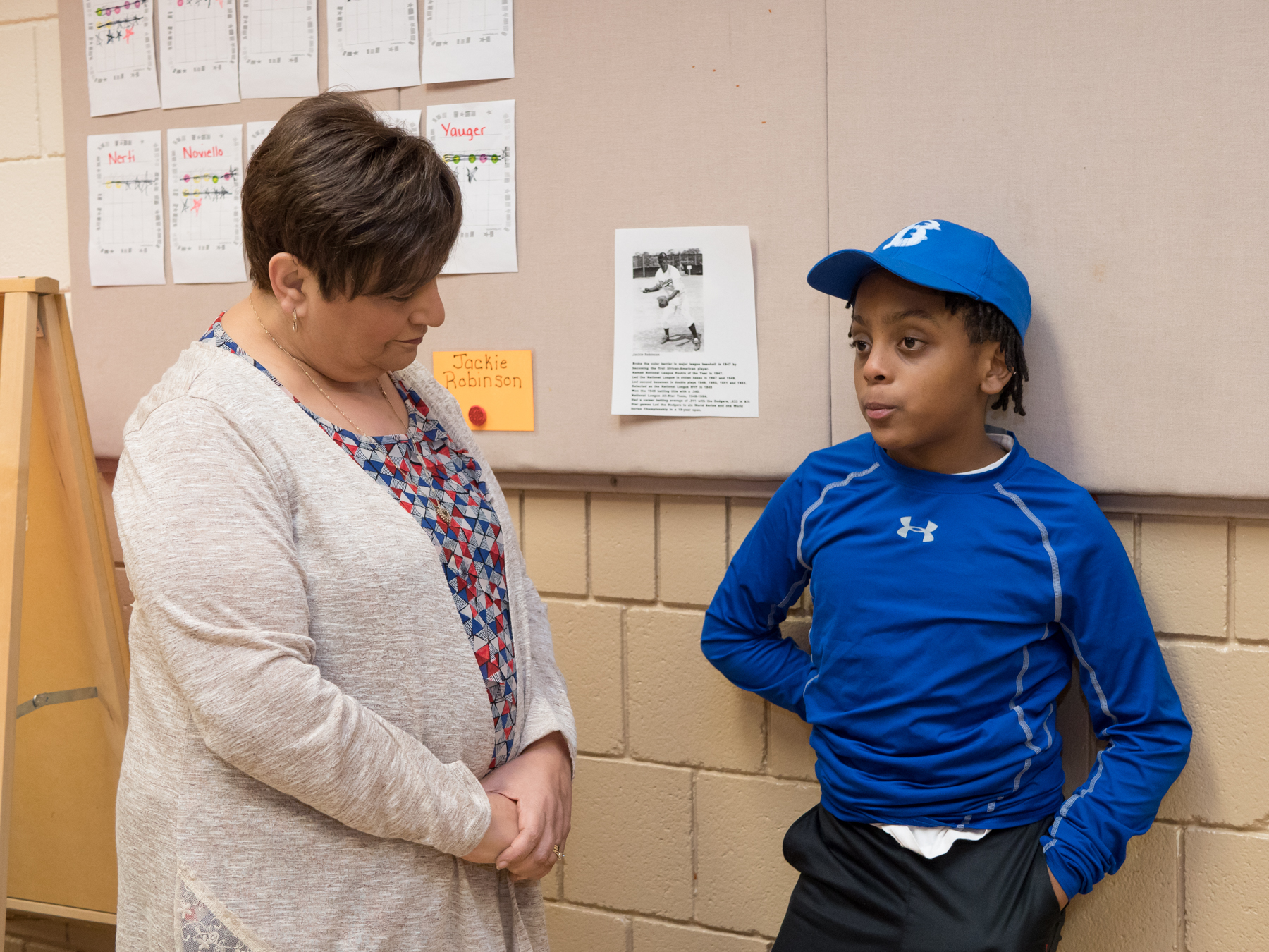superintendent visiting wax museum