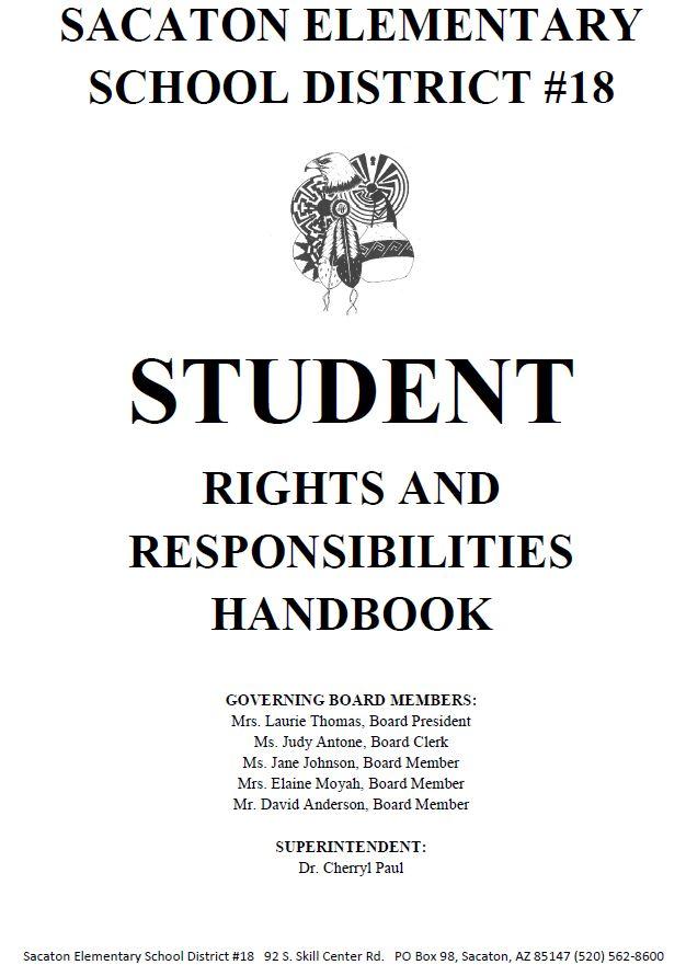 Student Handbook 2017