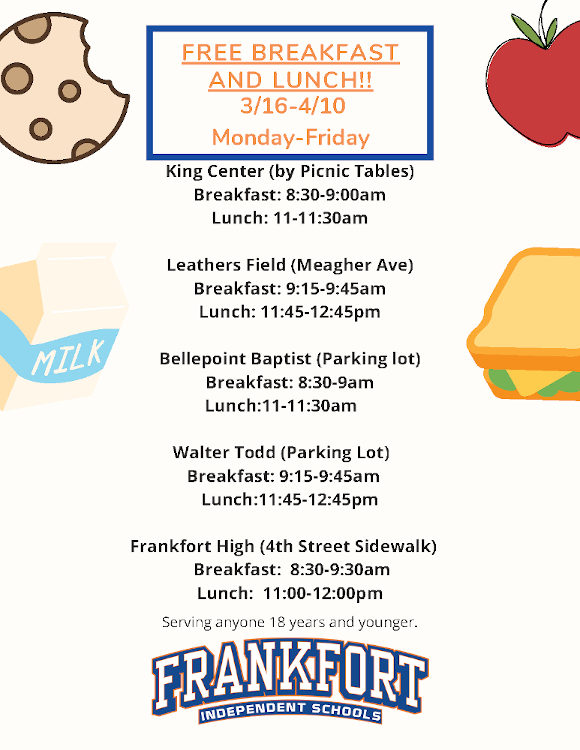 Image of free lunch flyer