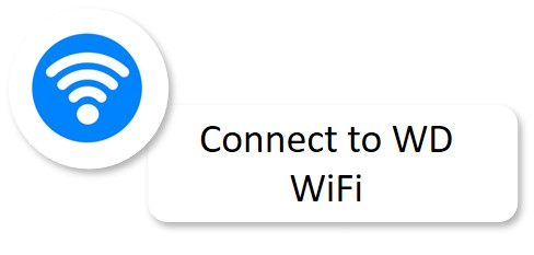 Connect to WD WiFi