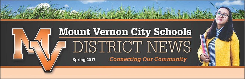 MVCSD Spring Newsletter Graphic