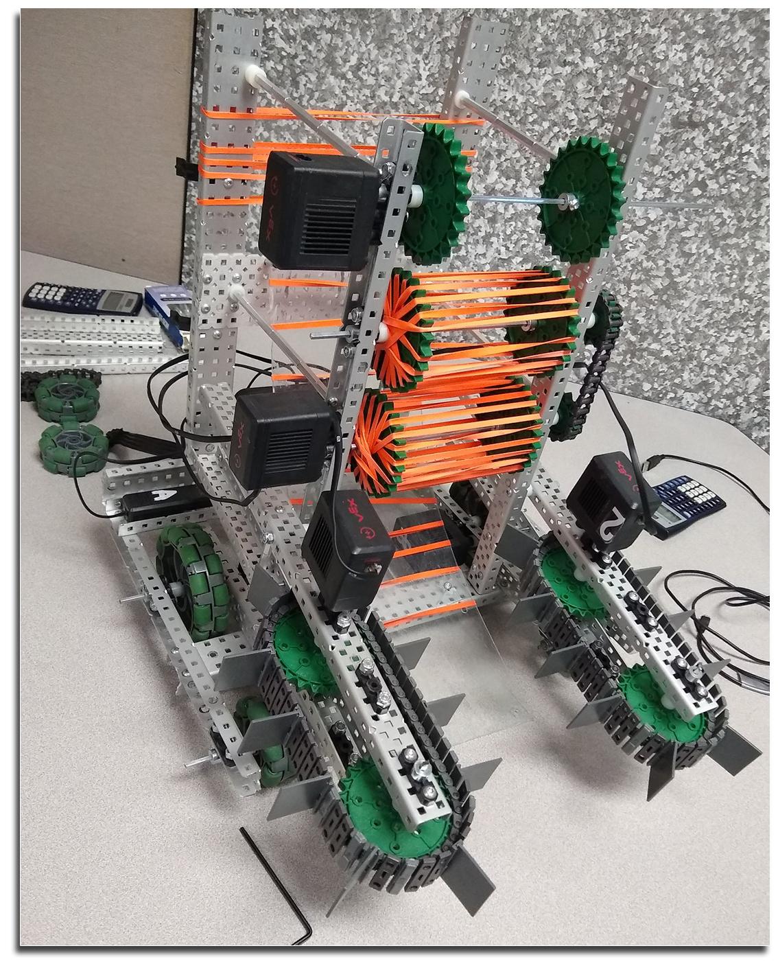 The VEX robot.