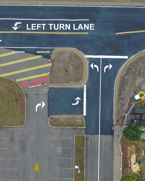 Parking Lot Exit