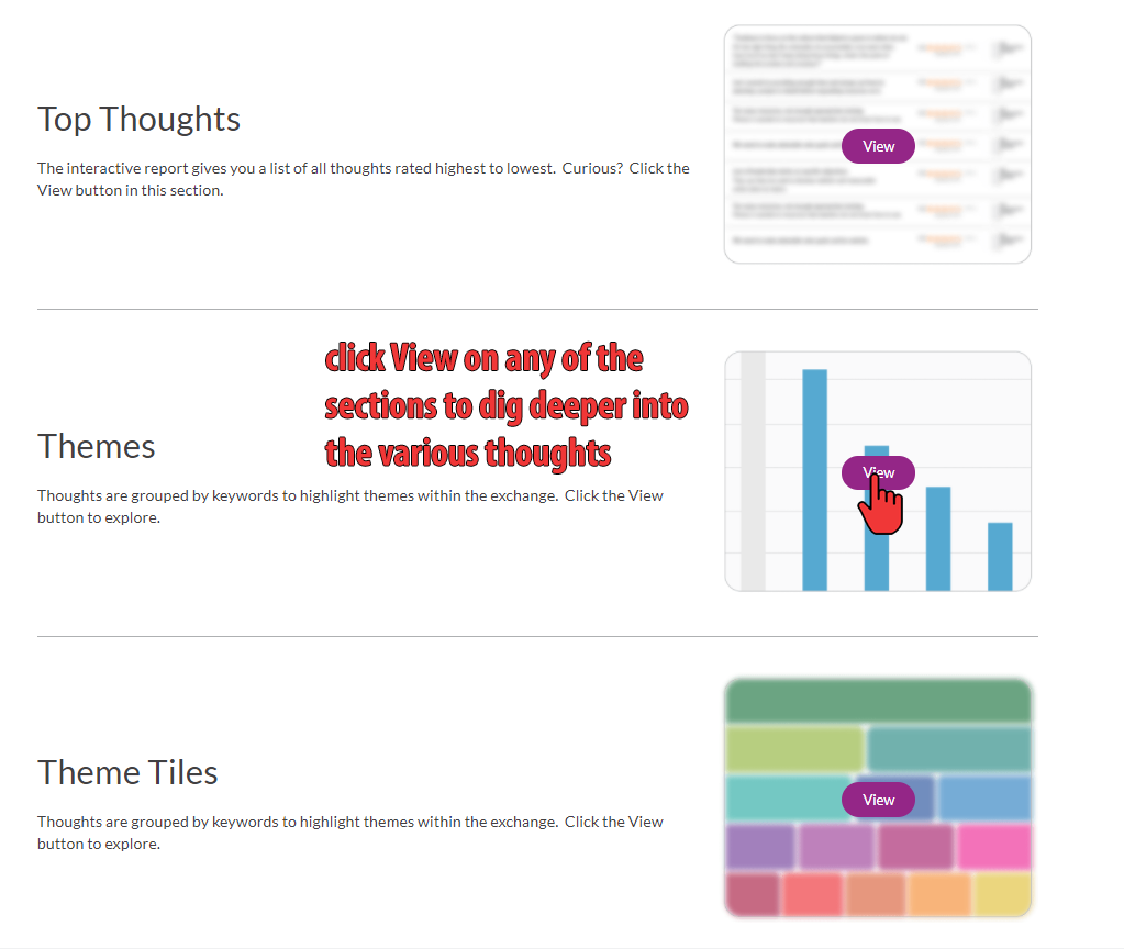 Thought Exchange Graphics