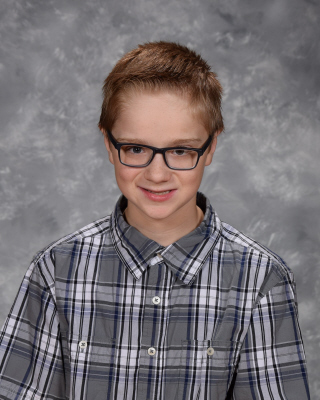 7th Grade Student of the Month for May