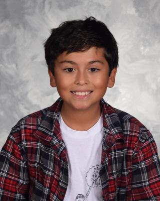 6th grade student of the month for April