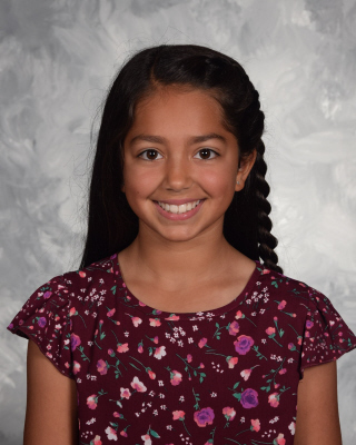 6th Grade Student of the Month for May