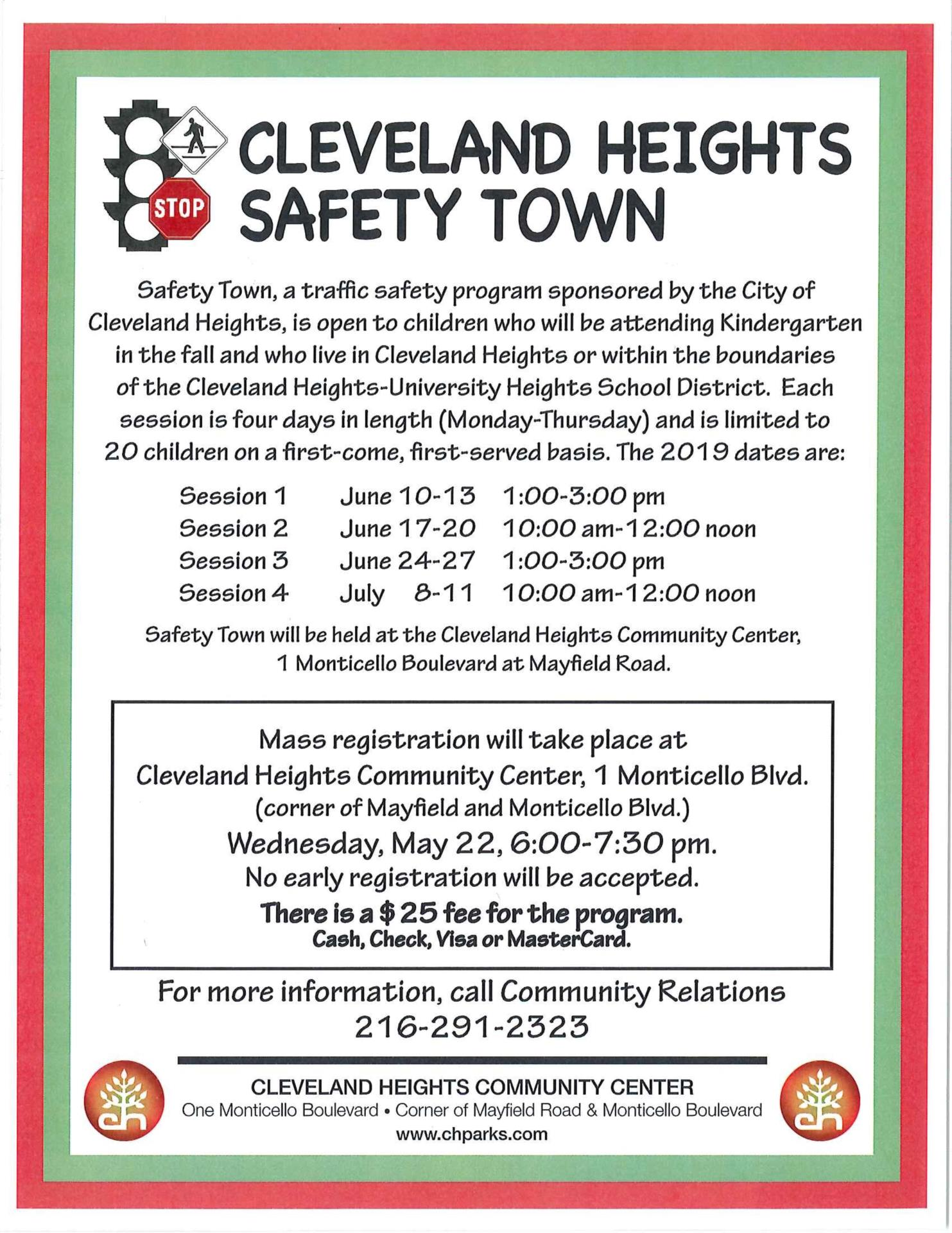 safety town flyer