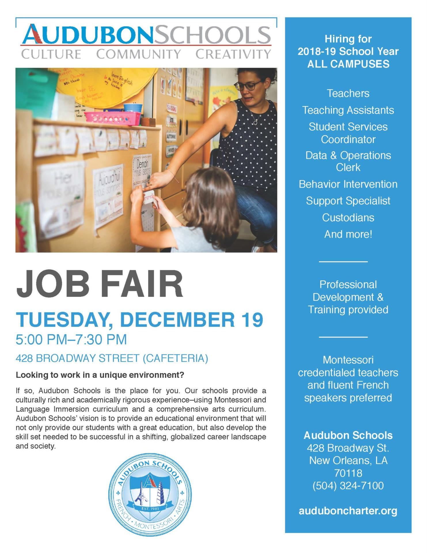 Job Fair 2017 Flyer