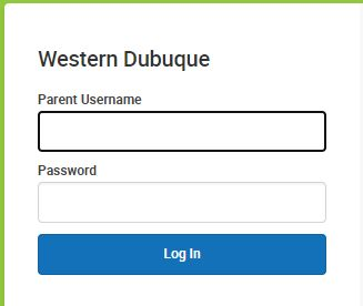 Parent Login Info