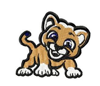 Keyser Primary School Cougar Mascot