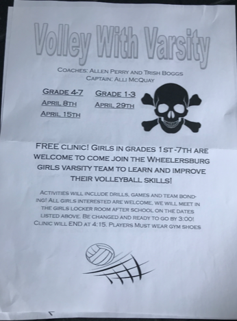 Volley With Varsity