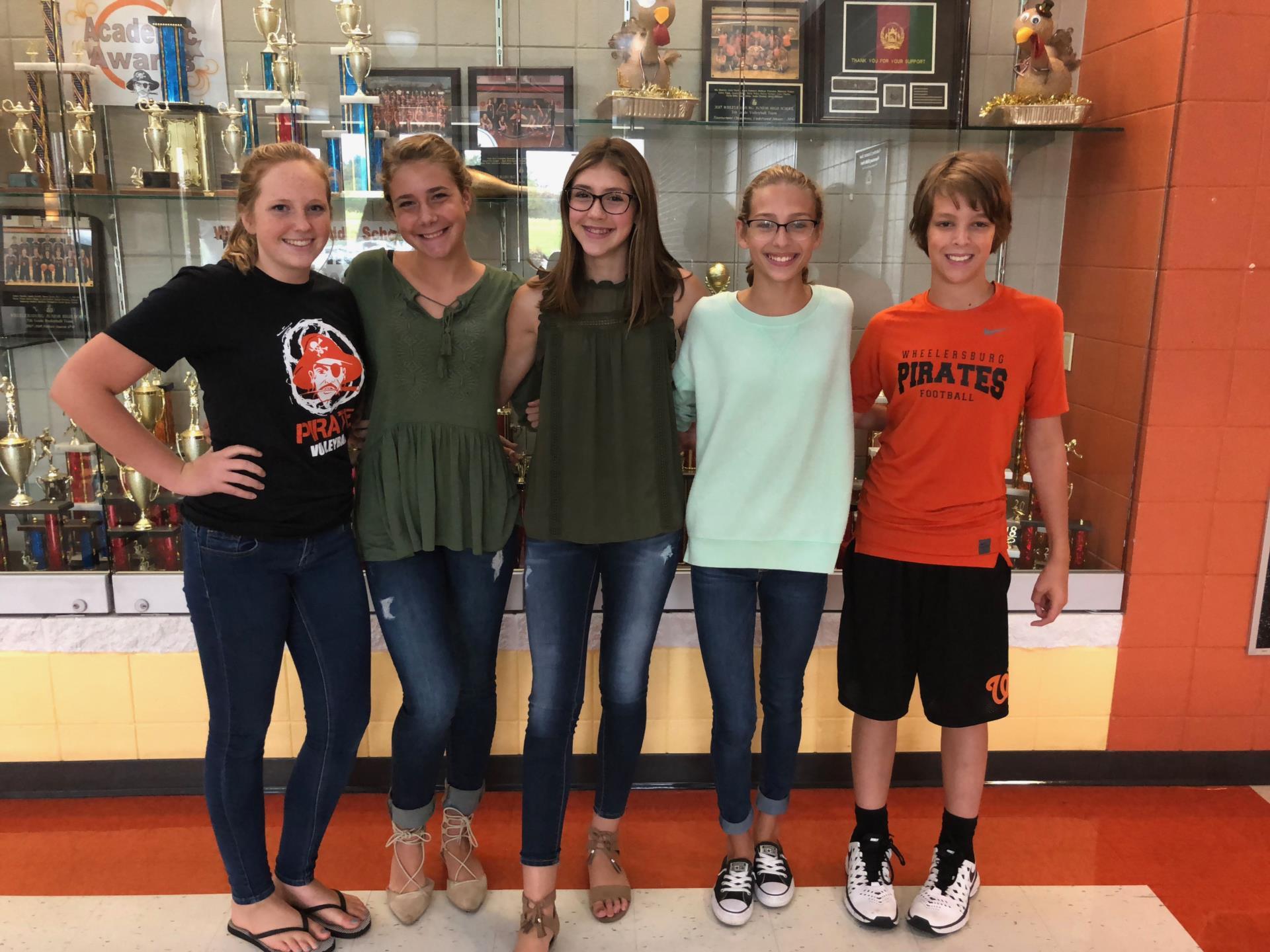 8th Grade Web Team