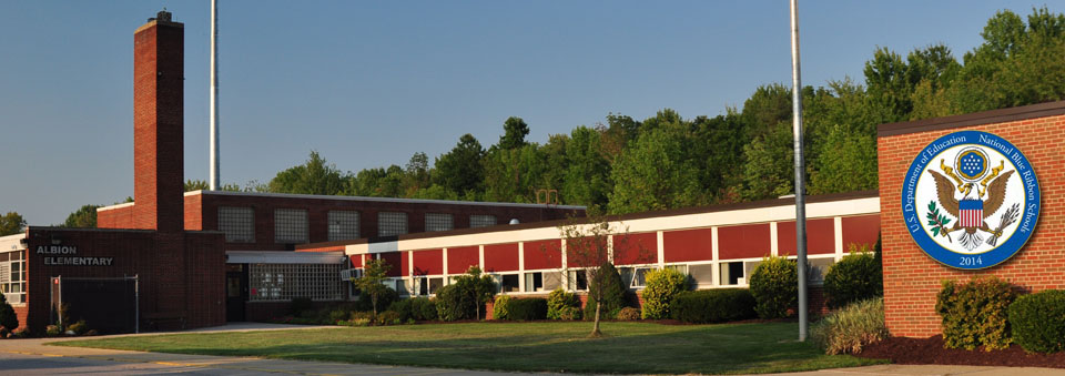 Albion Elementary building