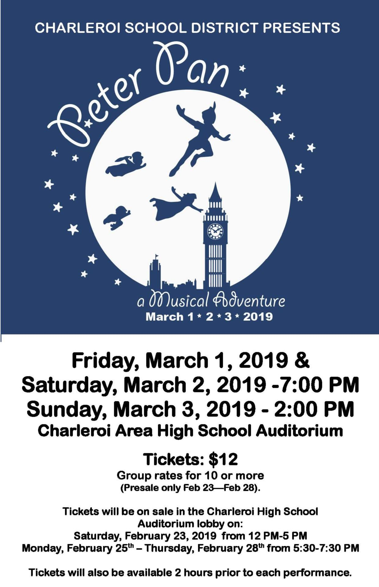 casd presents peter pan