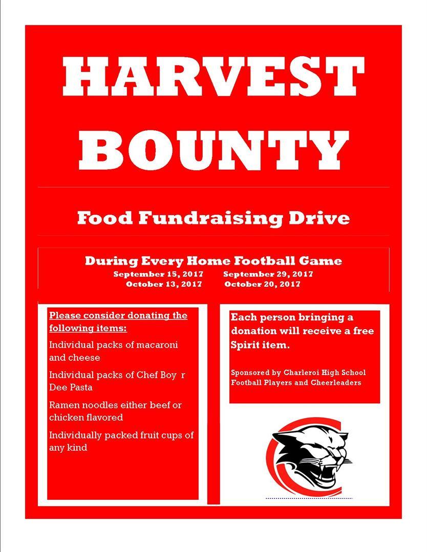 harvest bounty drive