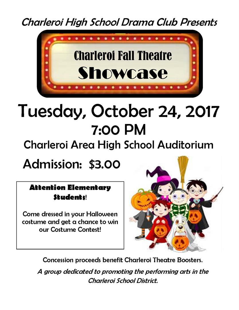 drama club fall showcase