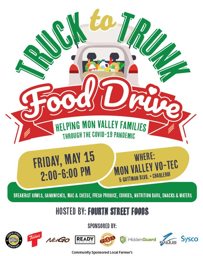 food drive for mon valley families