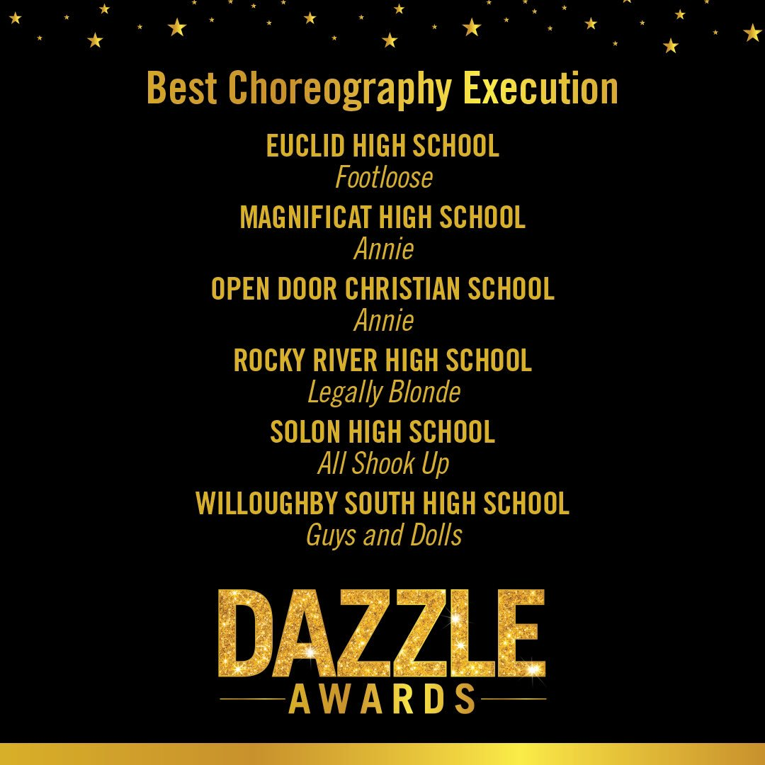 Dazzle Award Nominee