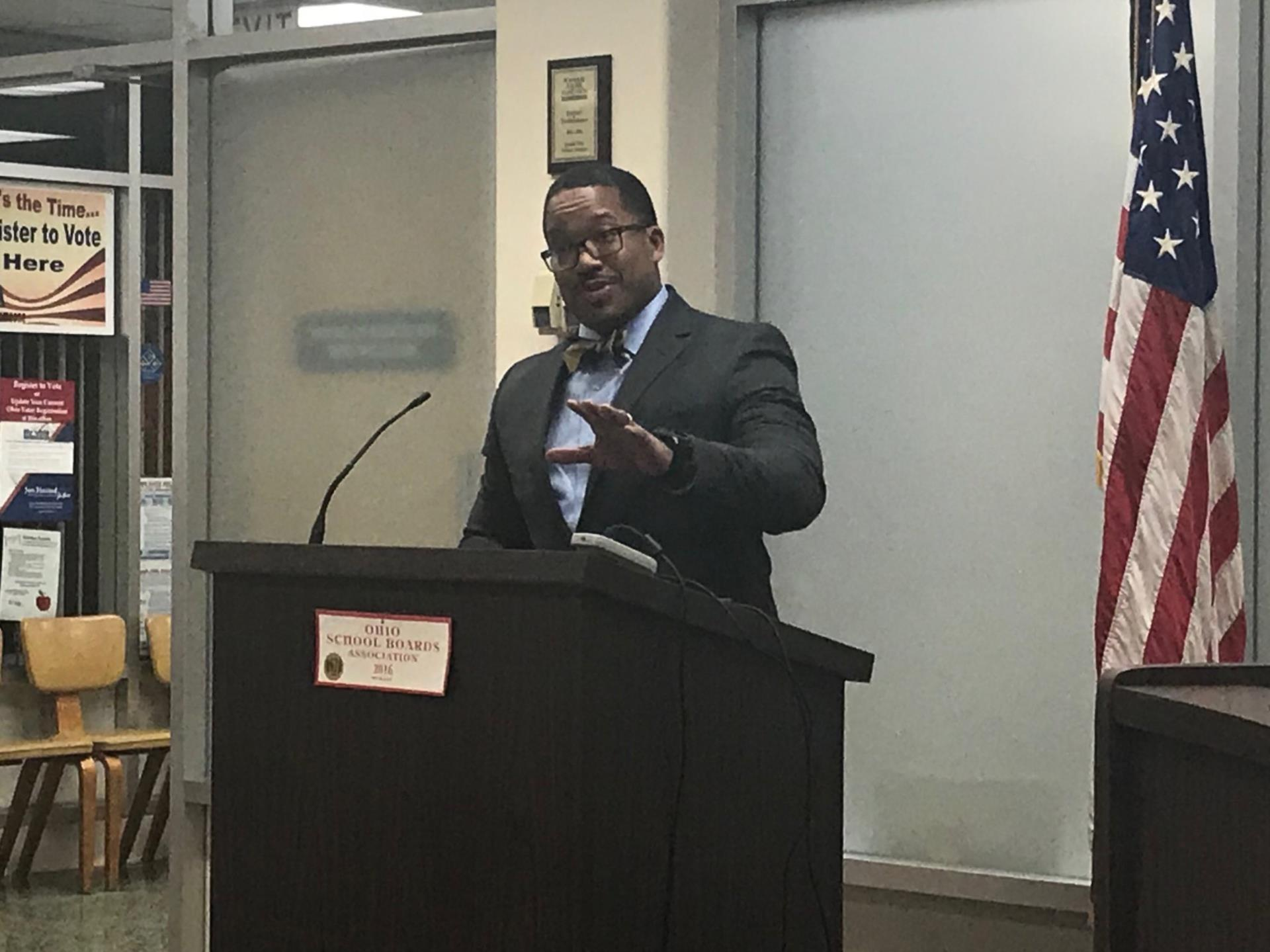 Mr. Marvin B. Jones, II accepts new position as Superintendent of Euclid Schools
