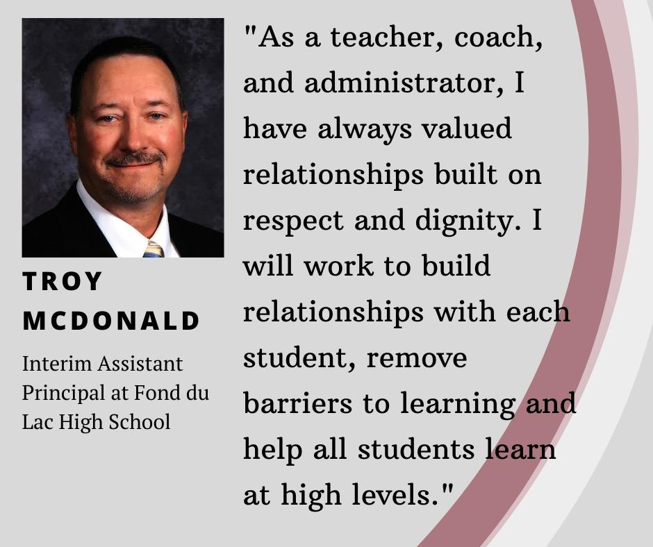 Troy McDonald info
