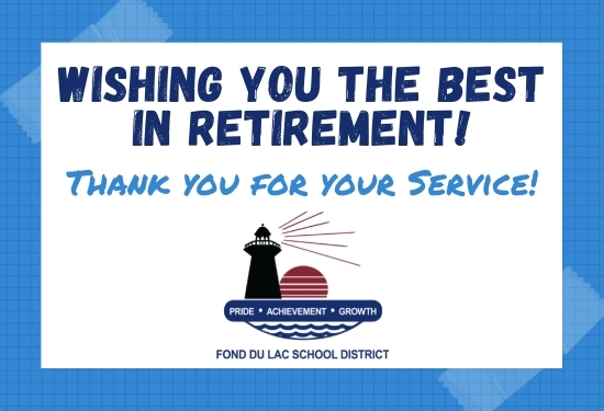 Wishing you the best in retirement!