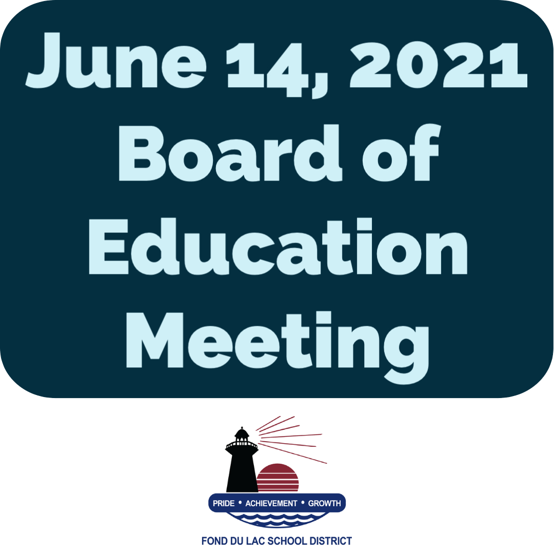 June 14 Board meeting