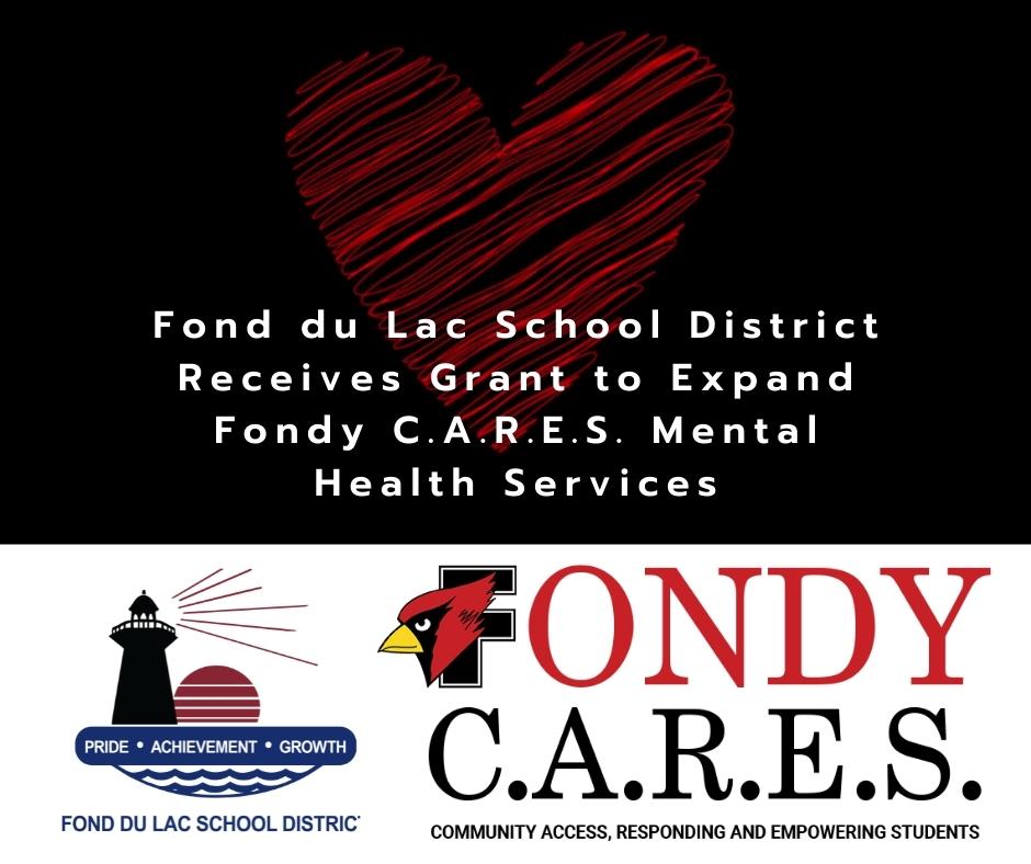 Fondy CARES Grant Graphic
