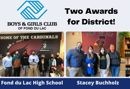 Two awards for District!