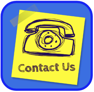 Contact Us sticky note