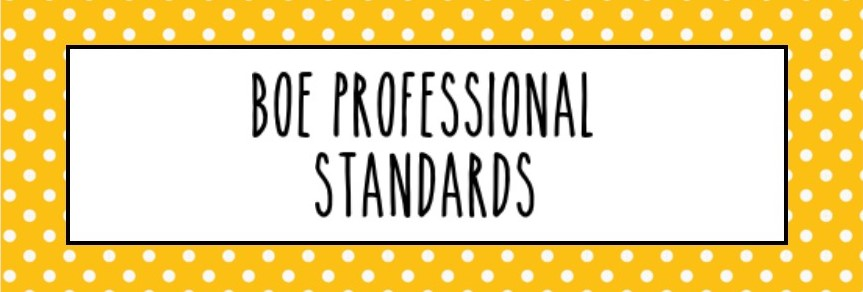 BOE Professional Standards