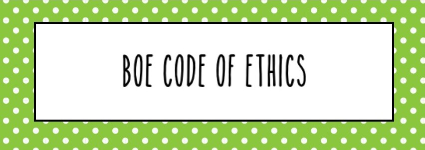 BOE Code of Ethics