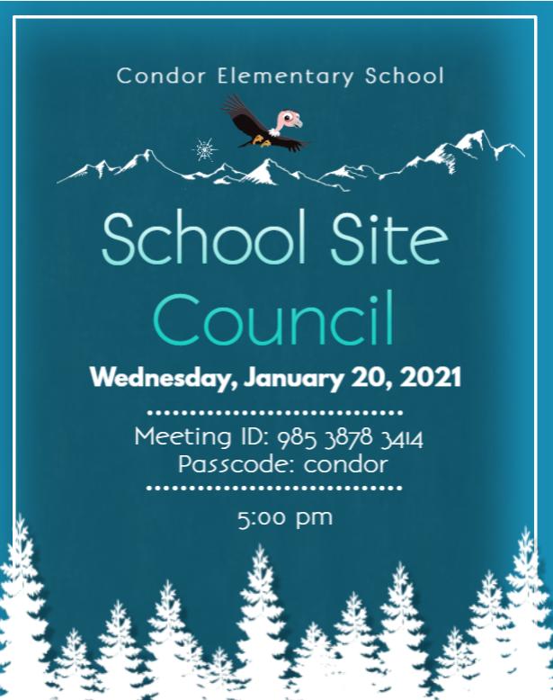 school site meeting