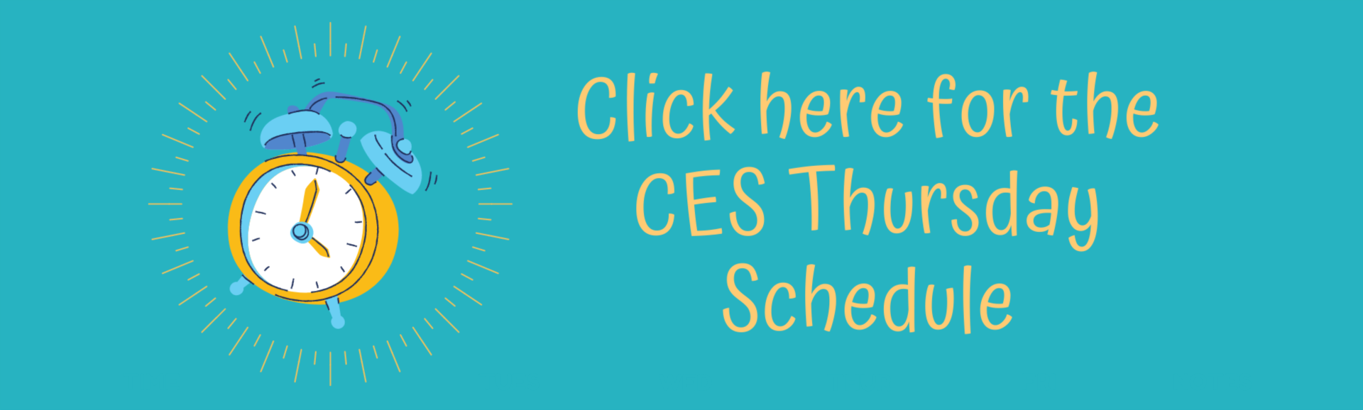 CES Thursday Schedule
