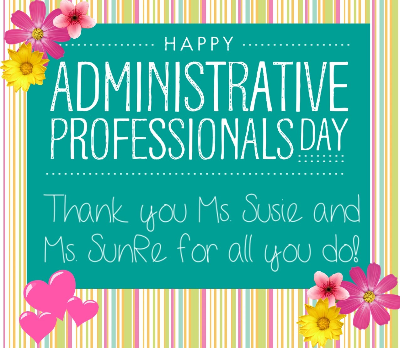 admin professional's day