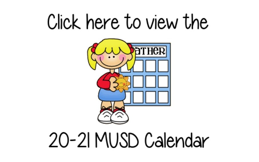MUSSD School Calendar 20-21