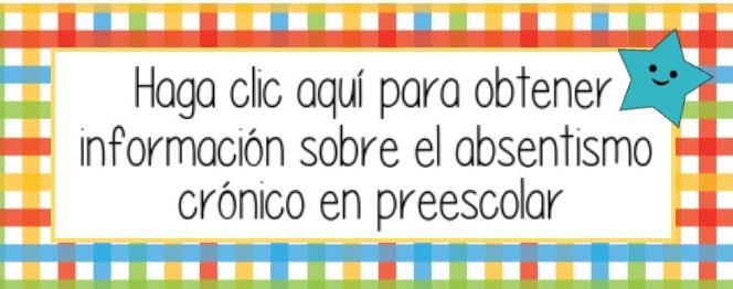 spanish preschool absenteeism