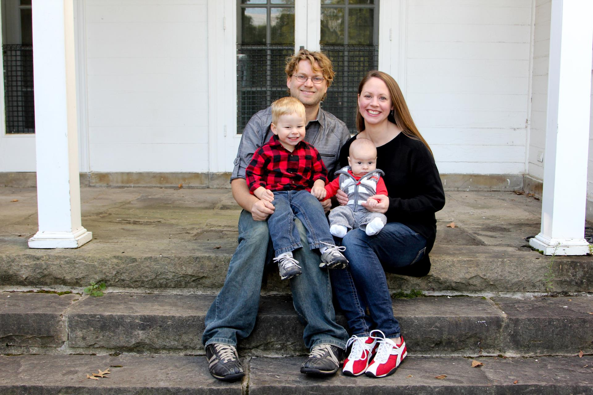 Mrs. Marks and her family