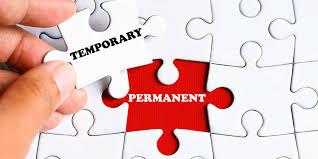 temp or perm