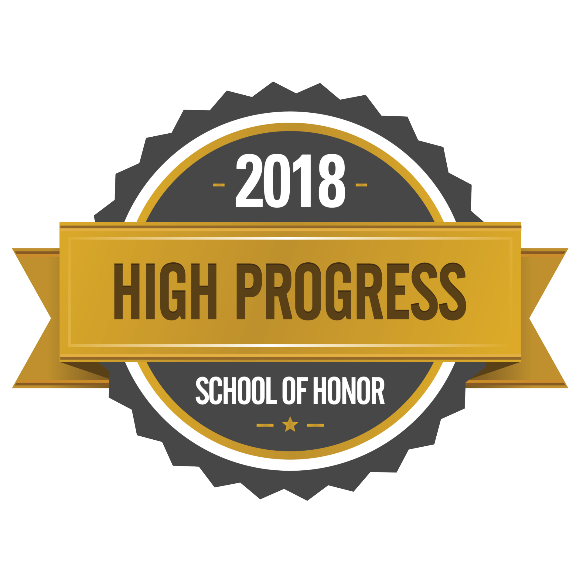 2018 High Progress seal