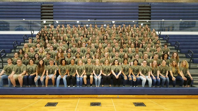 Pictured are 298 students who received Academic Letters 2017-2018