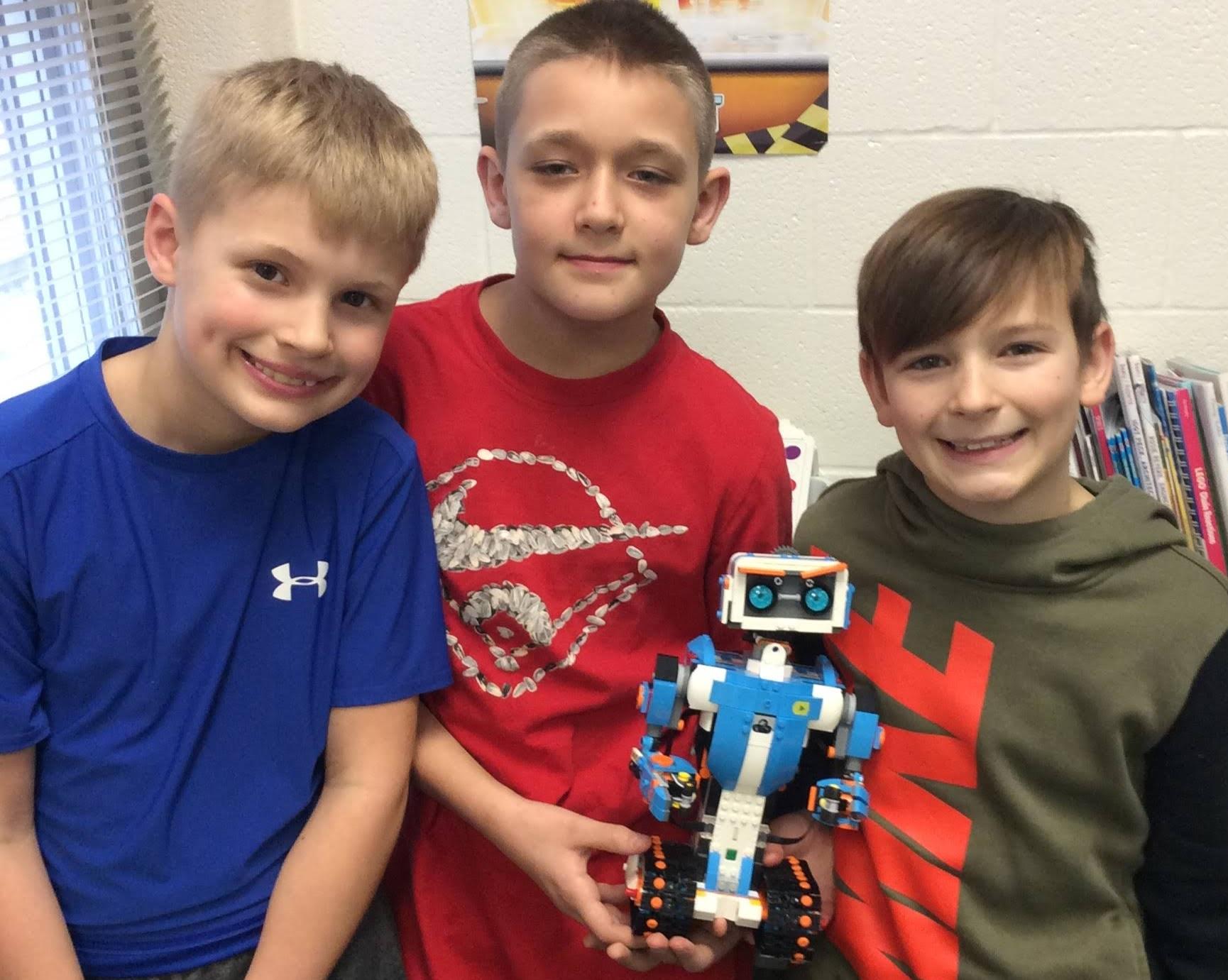 robotics with fourth graders