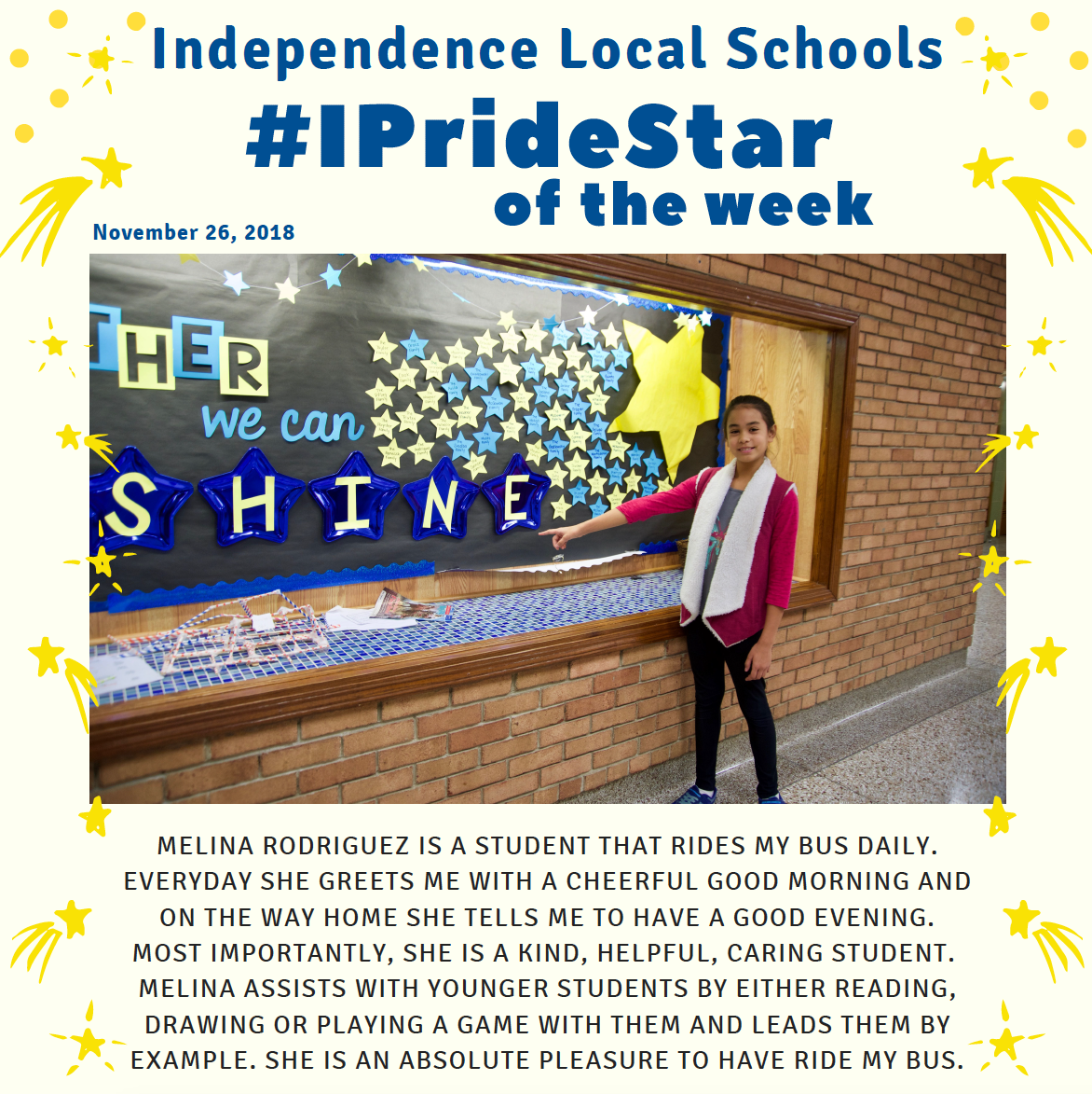 IPride Star of the Week