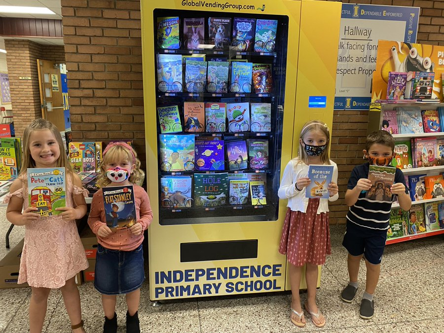 new book vending machine