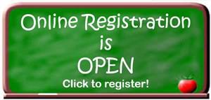 Online Registration is open- click to register